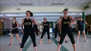 """Who Dat Girl"" by Flo Rida ft. Akon - #DanceFitFam - Dance Fitness - Choreography by Maddie Gifford"