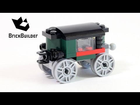 Vidéo LEGO Creator 31015 : La locomotive