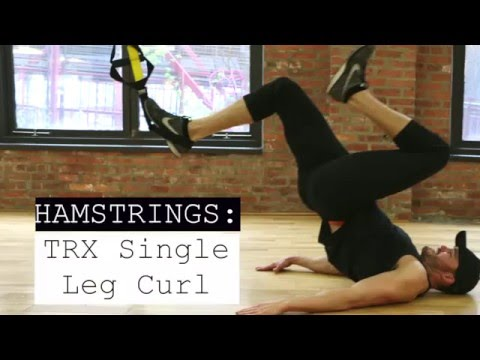 TRX Single Leg Curl