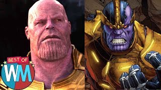 Top 10 Powerful Comic Book Characters – Best of WatchMojo