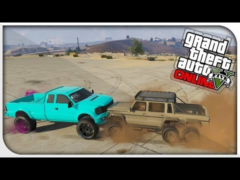 "GTA 5 Online - ""DUBSTA 6x6"" BEST OFF ROAD VEHICLE? (Dubsta 6x6 Vs Sandking) [GTA V Hipster DLC]"