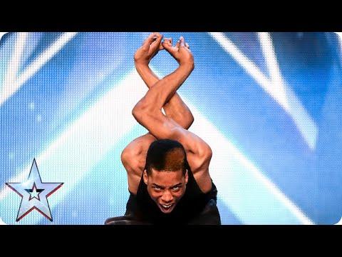 Will the Judges bend over backwards for Bonetics? | Britain's Got Talent 2015 видео