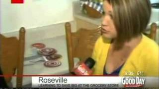 A Coupon Intervention with The Krazy Coupon Lady on Good Day Sacramento 5/8/11