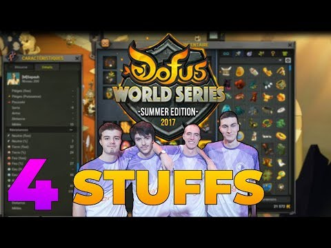 STUFF DOFUS WORLD SERIES #4 (ROUB/ZOBAL/STEAM/ELIO/HUPPER/OUGI)