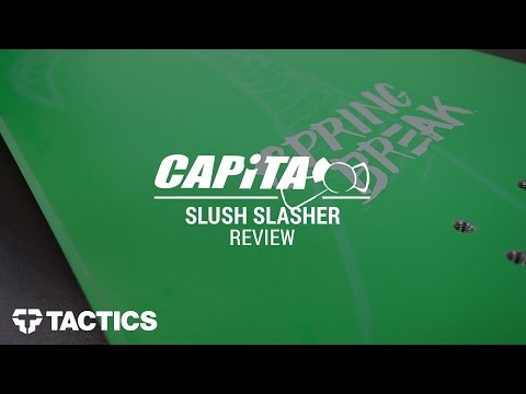 Capita Slush Slasher 2017 Snowboard Review – Tactics.com