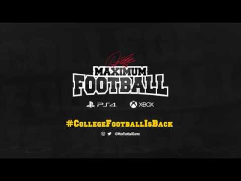 Maximum Football 2019 Game Play Trailer (01) thumbnail