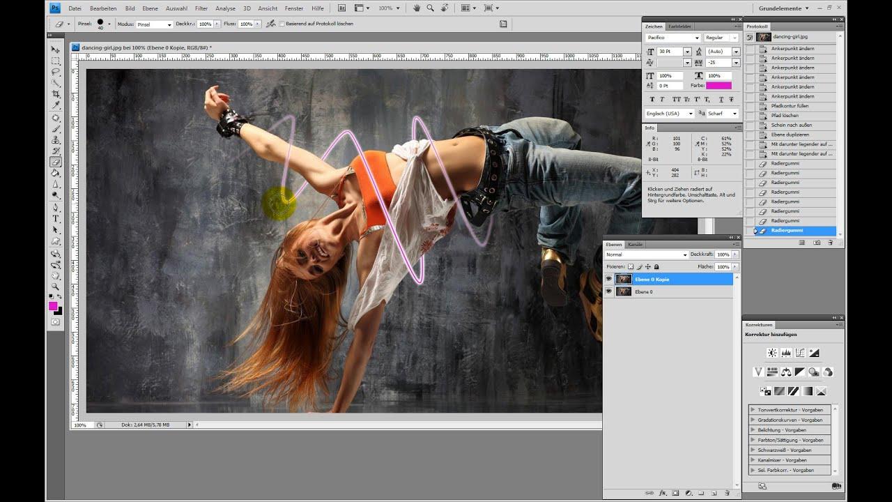 Lichtschweif erstellen – Photoshop-Tutorial