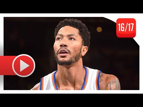 Derrick Rose Full Highlights vs Hawks (2016.11.20) – 14 Pts 7 Ast