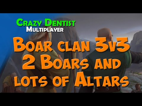Northgard Boar clan in 3v3 | 2 Boars and lots of Altars