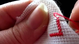 Смотреть онлайн Как вышивать крестиком: процесс вышивания для новичов