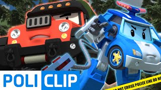 Robocar Poli Arrest The Poacher! | Robocar Poli Clips