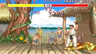Arcade Longplay [370] Street Fighter II: The World Warrior