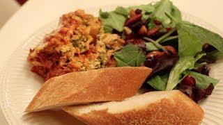 Crockpot Spinach Lasagna Recipe