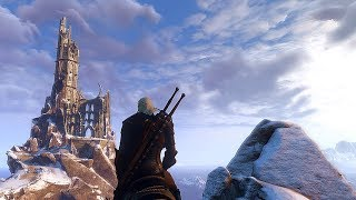Witcher 3 Extreme modded Next Gen graphic Atmospheric Lighting MOD