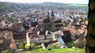 preview picture of video 'Rundgang durch die historische Altstadt und zur Burg von Esslingen am Neckar'