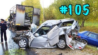 CAR CRASHES IN AMERICA. BAD DRIVERS USA AND CANADA | Crazy Drivers Car Crashes #105