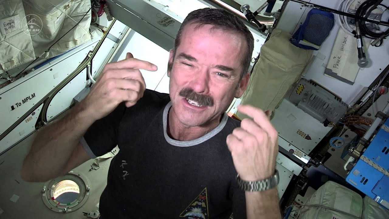 How Astronauts Trim Their Nails In Zero-G