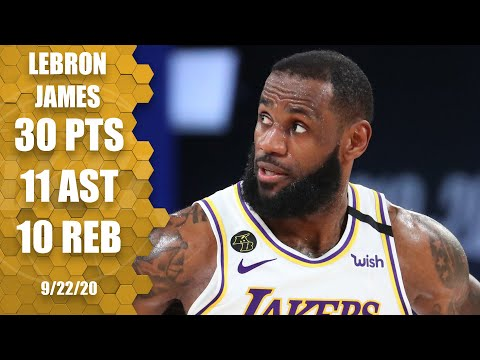 LeBron James posts triple-double for Lakers vs. Nuggets [GAME 3 HIGHLIGHTS] | 2020 NBA Playoffs