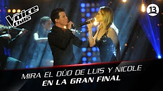 The Voice Chile | Luis Pedraza y Nicole - Nothing compares 2 U