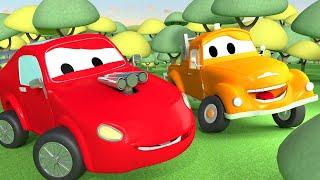 Odtahové auto pro děti - Závodní auto Jerry