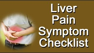Liver Pain Symptom Checklist