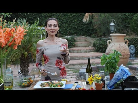 Baked Tarragon Crusted Salmon Recipe - Heghineh Cooking Show