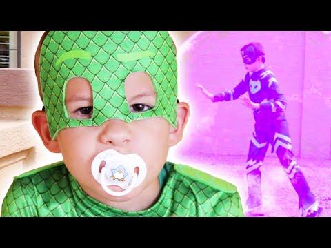 PJ Masks in Real Life 🍼 PJ Masks get turned into Babies! | PJ Masks Official