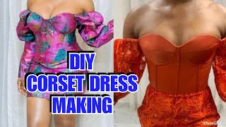 HOW TO MAKE A CORSET TOP
