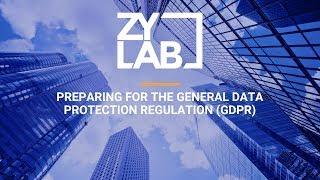 Webinar - Preparing for the General Data Protection Regulation (GDPR)