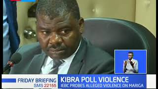 Kibra Poll Violence: IEBC probes alleged violence meted on Mariga