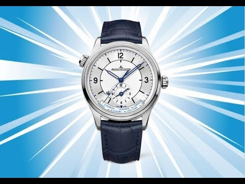 BEST WATCH EVER MADE: Jaeger-Lecoultre Master Geographic Sector Dial