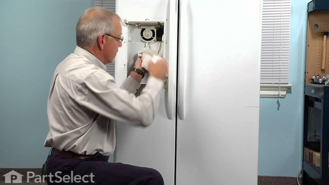 Replacing your General Electric Refrigerator Recess Door Spring