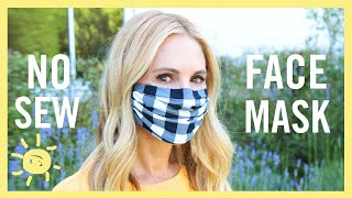 DIY | NO SEW FACE MASKS!