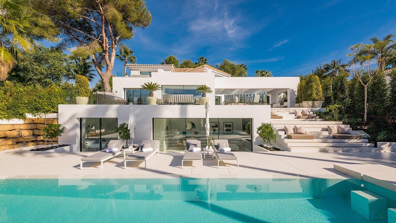 Stunning High-end Modern Design Luxury Villa in Nueva Andalucía, Marbella