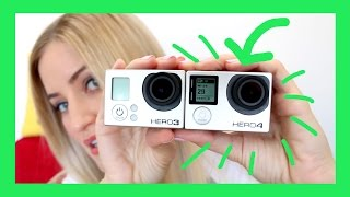 GoPro HERO4 Black Unboxing and Review! | iJustine