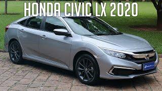 Avaliação: Honda Civic LX 2020