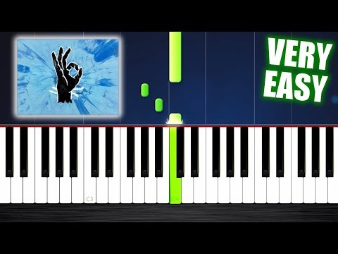 Ed Sheeran - Perfect - VERY EASY Piano Tutorial by PlutaX