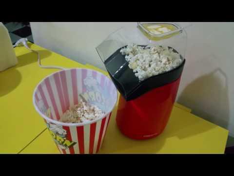 Maquina de hacer Popcorn o palomitas de maíz.