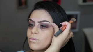 Arabian makeup tutorial by @Omamah_Makeup