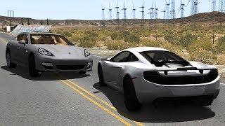 Luxury Car Crashes Compilation #6 - BeamNG.Drive •Notsofancygames