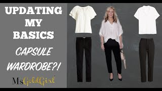 Updating My Basics | Capsule Collection?! | MsGoldgirl