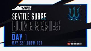 Call Of Duty League 2020 Season | Seattle Surge Home Series | Day 1
