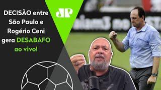 Narrador se exalta ao falar de São Paulo x Rogério Ceni: