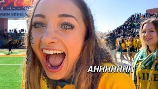 Running from BEARS! | College Life: We Ran the Baylor Line