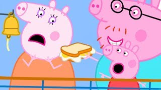 Peppa Pig Official Channel   Peppa Goes to Paris on a Ferry but Mummy Pig Doesn't Feel Well