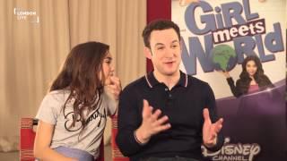 Ben Savage And Rowan Blanchard On Disneys Girl Meets World