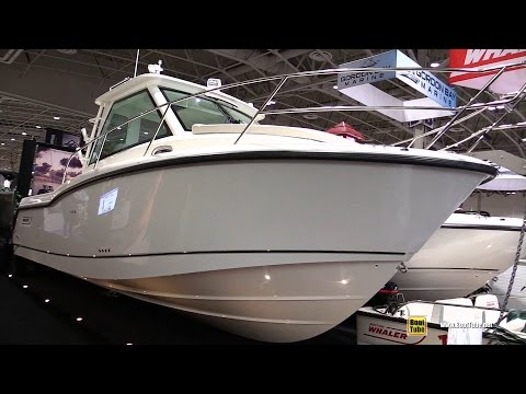 2016 Boston Whaler 285 Conquest Fishing Boat – Walkaround – 2016 Toronto Boat Show