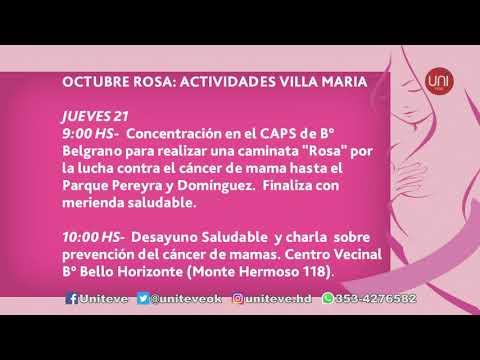 Octubre rosa: mes de lucha contra el cáncer de mama