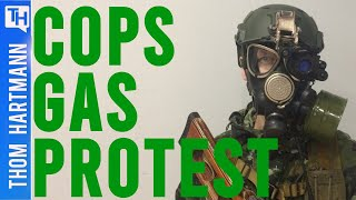 Cops Breaks Promise Not To Gas Peaceful Protesters (w/ Mark Taylor-Canfield)