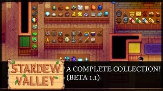 [Stardew Valley] Completing All Collections!